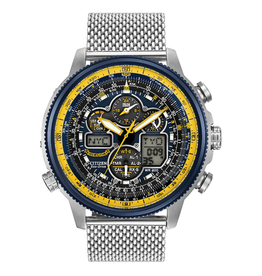 Citizen Citizen Blue Angels Navihawk Atomic Timekeeping Mens Watch