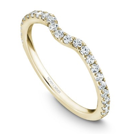 Noam Carver Yellow Gold Matching Band