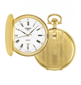 Tissot Tissot Savonnette Gold Tone Pocket Watch
