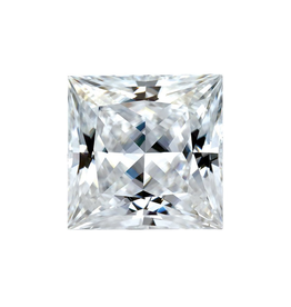 Moissanite 6mm Square Princess Cut Forever One (Approx 1.00ct)