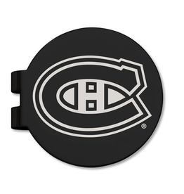 NHL Licensed Montreal Canadiens Black Prevail Engraved Money Clip