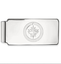 NHL Licensed NHL Licensed Winnipeg Jets Sterling Silver Money Clip