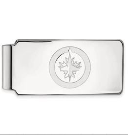 NHL Licensed Winnipeg Jets Sterling Silver Money Clip