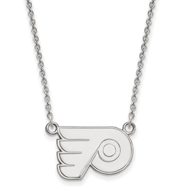 NHL Licensed Philadelphia Flyers Sterling Silver Necklace