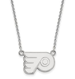 NHL Licensed Philadelphia Flyers Sterling Silver Necklace