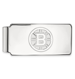 NHL Licensed Boston Bruins Sterling Silver Money Clip
