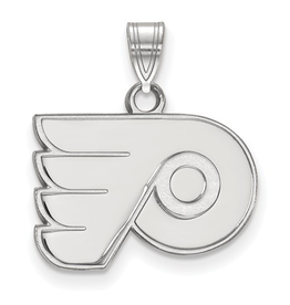 NHL Licensed NHL Licensed (Small) Philadelphia Flyers 10K White Gold Pendant