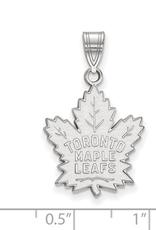 NHL Licensed NHL Licensed (Large) Maple Leafs 10K White Gold