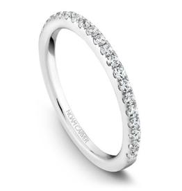 Noam Carver Diamond Matching Band to B017-03A