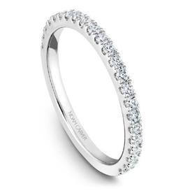 Noam Carver Matching Diamond Band White Gold to B223-01WM