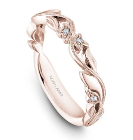Matching Rose Gold Diamond Band to B356-01RWA