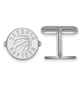 NBA Licensed Toronto Raptors Cuff Links Sterling Silver
