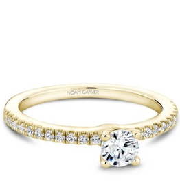 Solitare Engagement (0.46ct) Diamond Ring