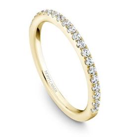 Noam Carver Diamond Matching Band to S017-01YM-FB25A