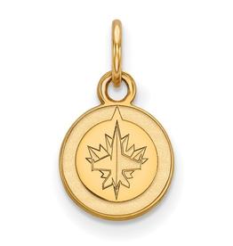 NHL Licensed NHL Licensed (XSmall) Winnipeg Jets 10K Yellow Gold Pendant