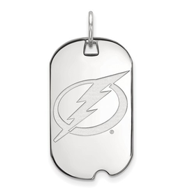 NHL Licensed NHL Licensed Tampa Bay Lightning Sterling Silver Dog Tag