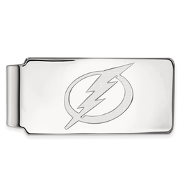 NHL Licensed NHL Licensed Tampa Bay Lightning Sterling Silver Money Clip