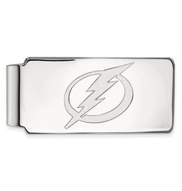 NHL Licensed Tampa Bay Lightning Sterling Silver Money Clip