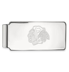 NHL Licensed NHL Licensed Chicago Blackhawks Sterling Silver Money Clip