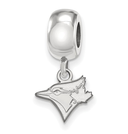 MLB Licensed Toronto Blue Jays Dangle Bead Sterling Silver