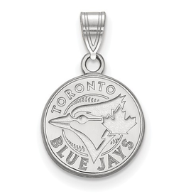 Toronto Blue Jays (12mm) Pendant Sterling Silver