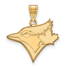 MLB Licensed MLB Licensed Toronto Blue Jays Large 10K Yellow Gold Pendant
