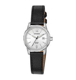 Citizen Citizen Ladies Quartz Black Strap Watch