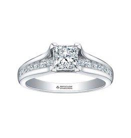 Princess Cut (1.20ct) Canadian Diamond White Gold Ring