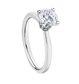 Maple Leaf Diamonds Circle of Love (0.75ct) Canadian Diamond Ring 18K White Gold