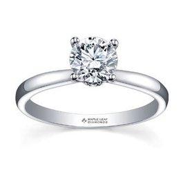 Maple Leaf Diamonds Circle of Life Palladium White Gold (0.75ct) Canadian Diamond Engagement Ring