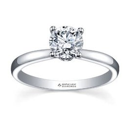Maple Leaf Diamonds Circle of Love Palladium White Gold (0.75ct) Canadian Diamond Engagement Ring