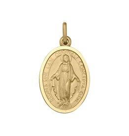 Miraculous Medallion Pendant 10K Yellow Gold (15.5mm)