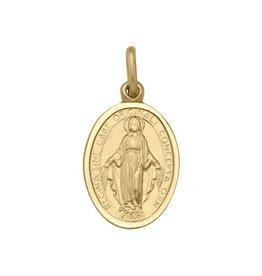 Miraculous Medallion Pendant 10K Yellow Gold (12.5mm)
