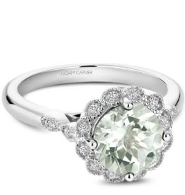 Green Amethyst & Diamonds NC