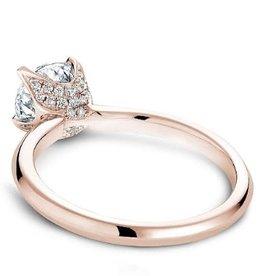 Noam Carver Noam Carver Rose Gold Diamond Mount