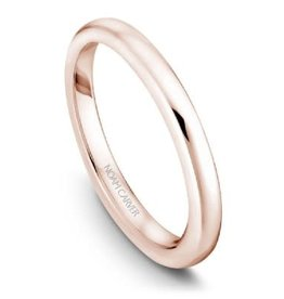 Noam Carver Matching Band Rose Gold to B018-01R-A