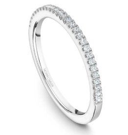 Noam Carver Noam Carver White Gold Diamond Pavee Band