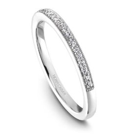 Noam Carver Noam Carver White Gold Diamond Wedding Band