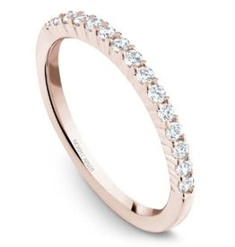 Noam Carver Noam Carver Rose Gold Diamond Band