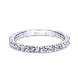 Gabriel & Co Gabriel & Co 14k White Gold Round Straight