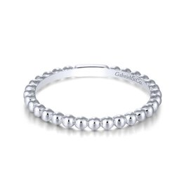 Gabriel & Co 14k White Gold Straight