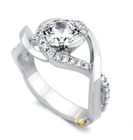 Mark Schneider Mark Schneider White Gold Scintillate Diamond Mount Ring