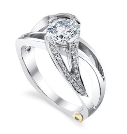 Mark Schneider Mark Schneider White Gold Rejoice Diamond Mount Ring