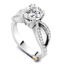 Mark Schneider Mark Schneider White Gold Dazzling Diamond Mount Ring