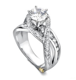 Mark Schneider Mark Schneider Bedazzle Diamond Ring Mount