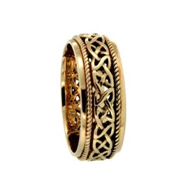 Keith Jack Ederline 10K Yellow Gold Celtic Ring