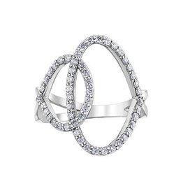 White Gold 0.50 Carat Diamond Ring