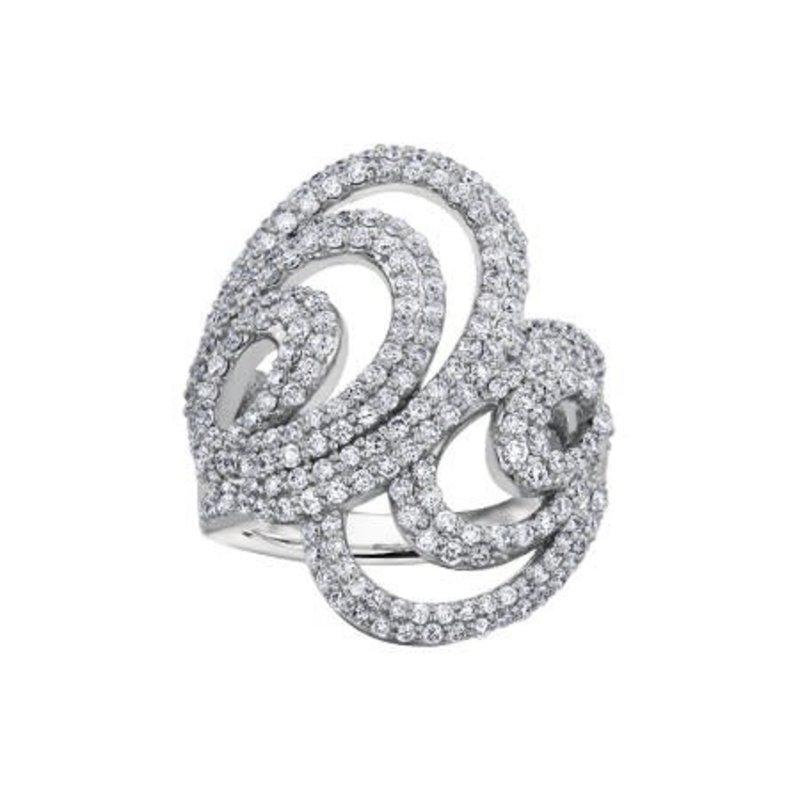 10K White Gold Diamond (1.00ct) Ring