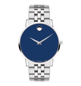 Movado Movado Museum Classic Mens Blue Dial Watch