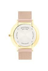 Movado Movado Ultra Slim Ladies Sandy Pink Dial and Pink Strap